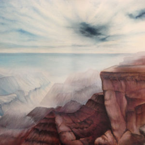 Rocky Mountens. 80 x 100 cm.Prijs op aanvraag.